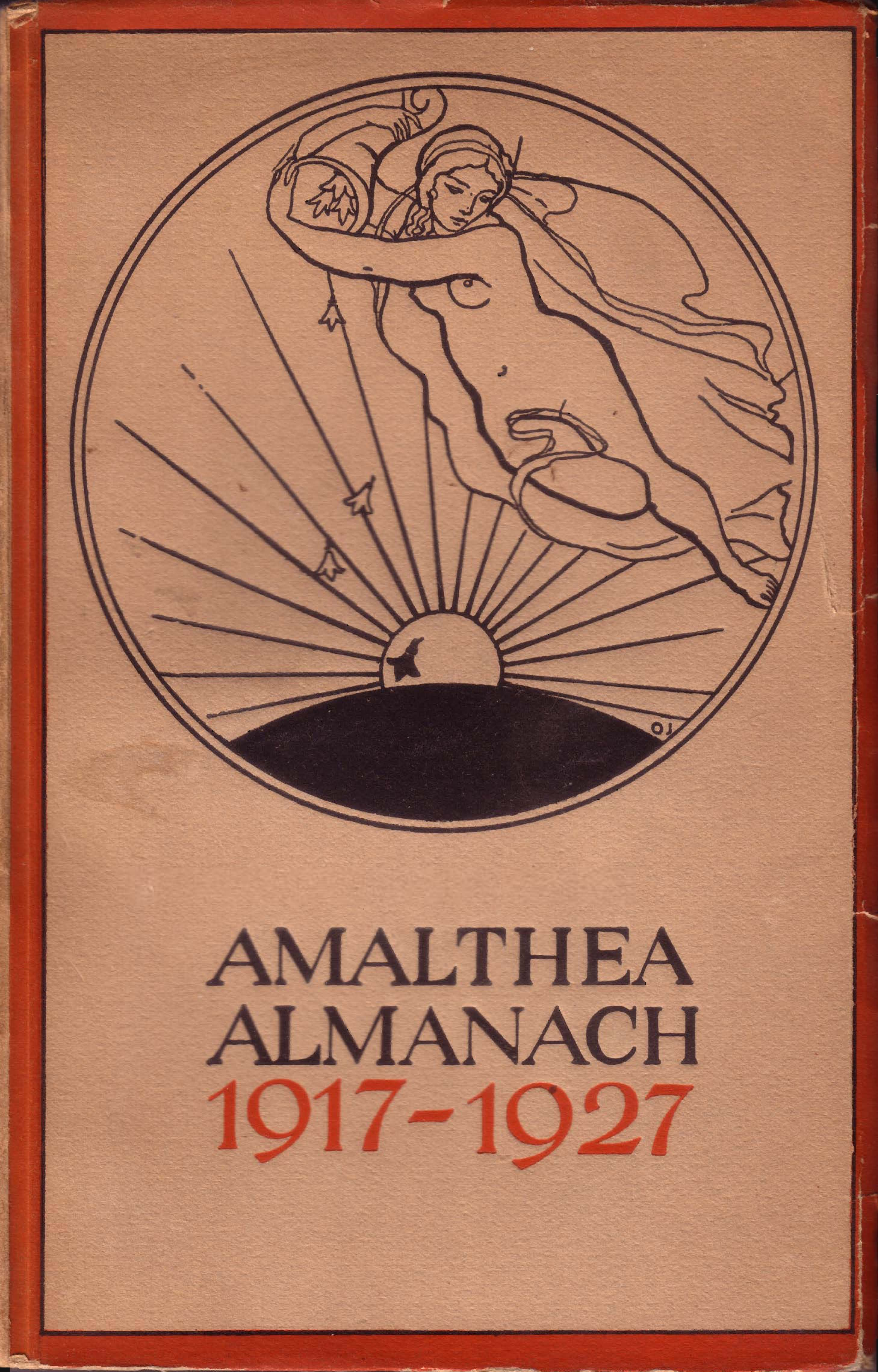 Amalthea Almanach 1917 bis 1927