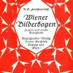 """Einband des """"Wiener Bilderbogen"""" von Forschneritsch"""