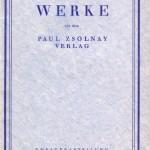 Prospekt der Theaterabteilung des Paul Zsolnay Verlags