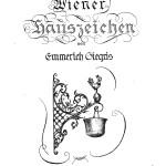 """Burgverlag Anzeige """"Wiener Hauszeichen"""""""