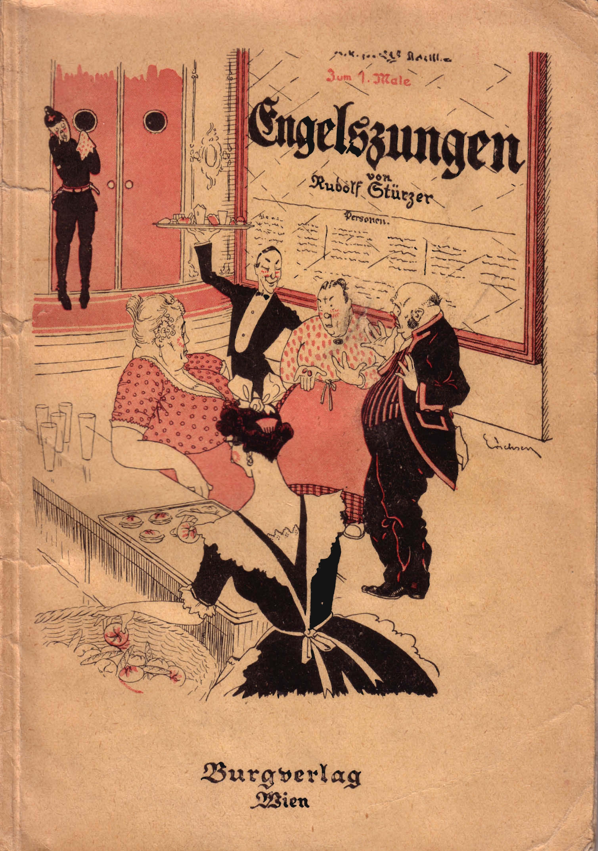 """Burgverlag Stürzer Einband """"Engelszungen"""""""
