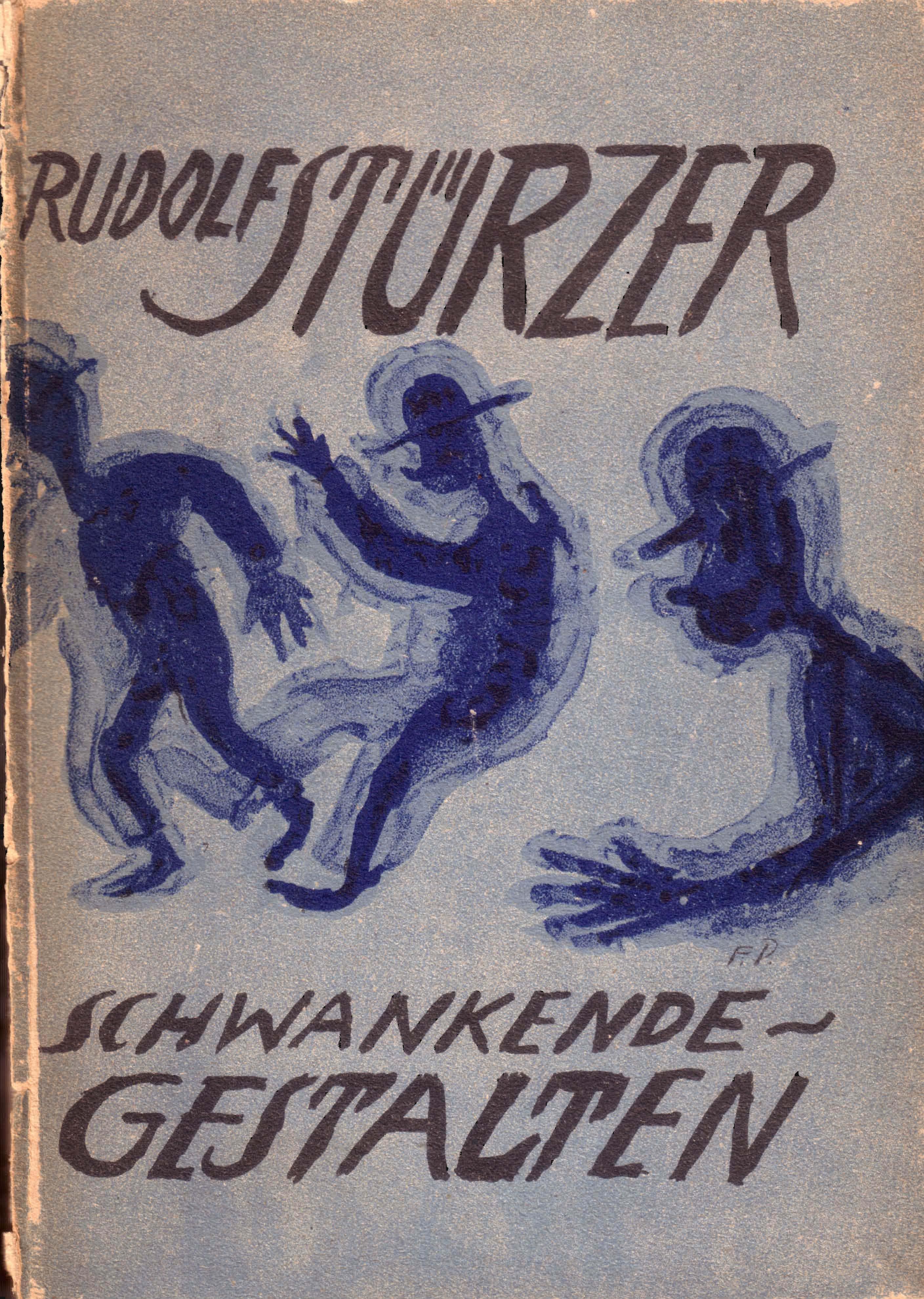 """Burgverlag Stürzer Einband """"Schwankende Gestalten"""""""