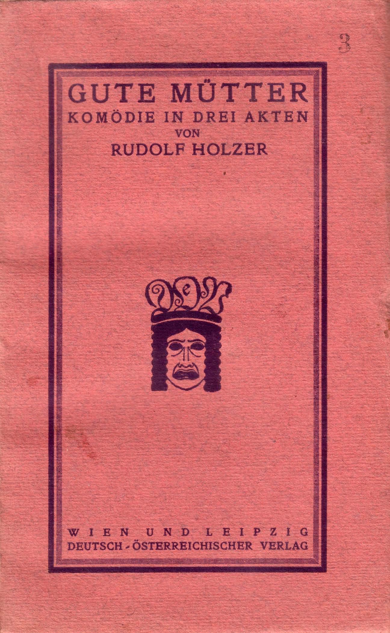 Einband des Deutsch-österreichischen Verlags