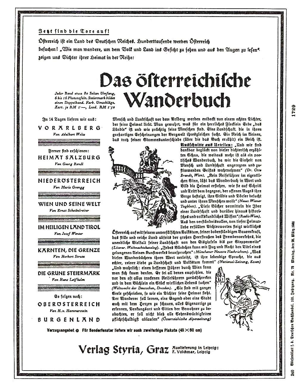 Das österr. Wanderbuch