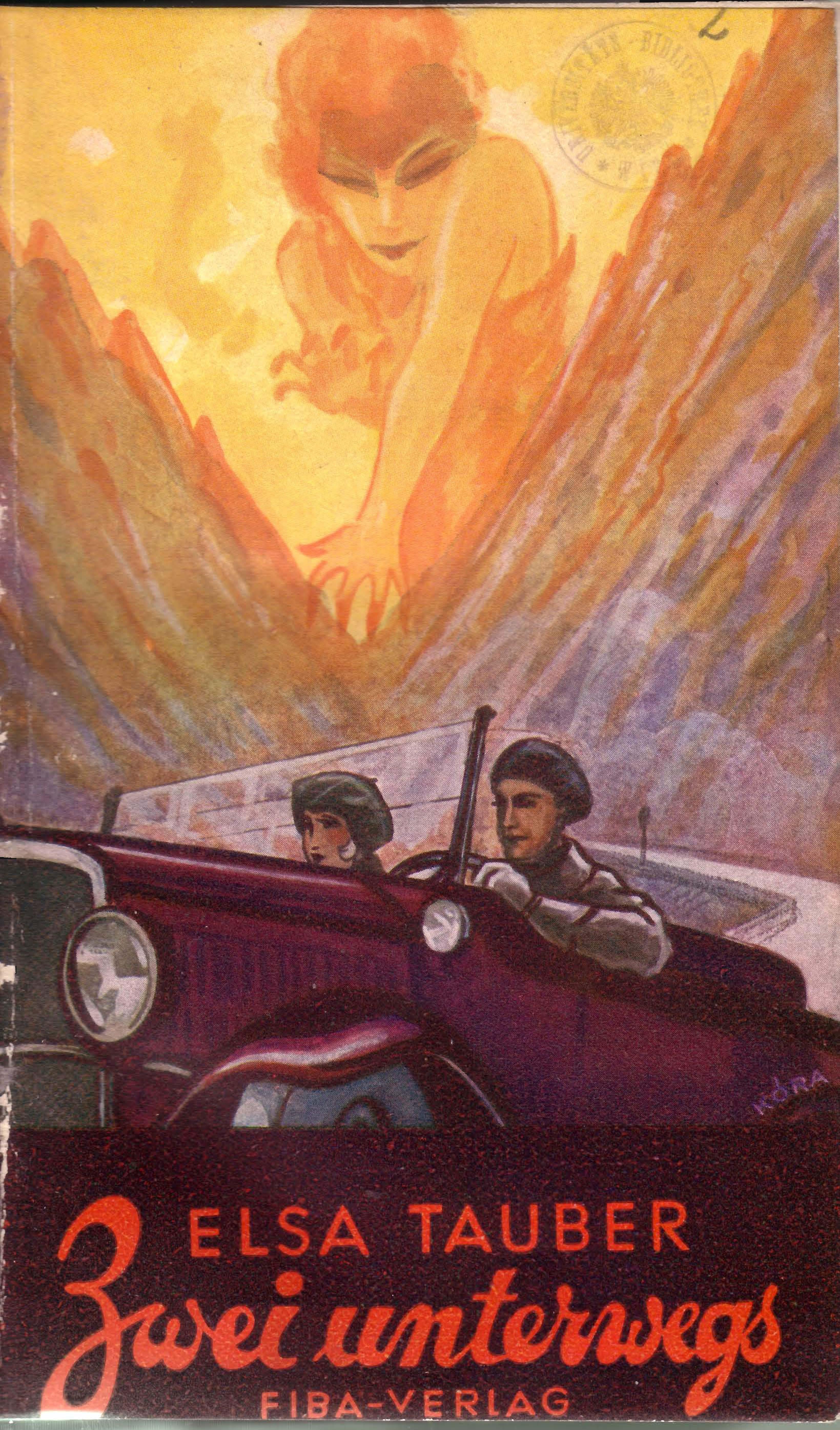 Umschlagzeichnung von Kóra, 1931