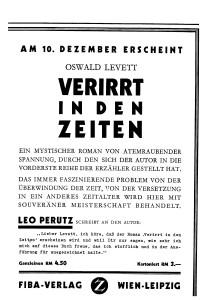 Börsenblatt-Anzeige, 9.12.1932