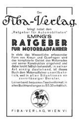 Verlagsanzeige 1928