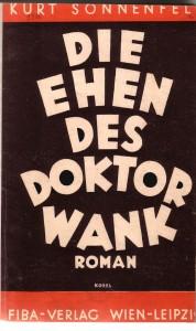 Einbandentwurf von Hermann Kosel, 1933