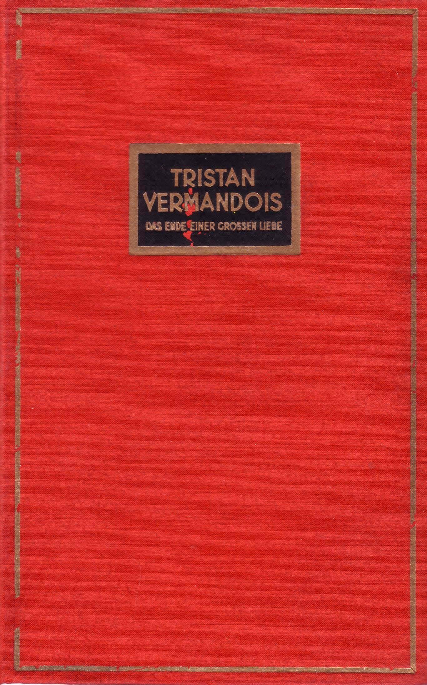 Einband von Hermann Kosel, 1932