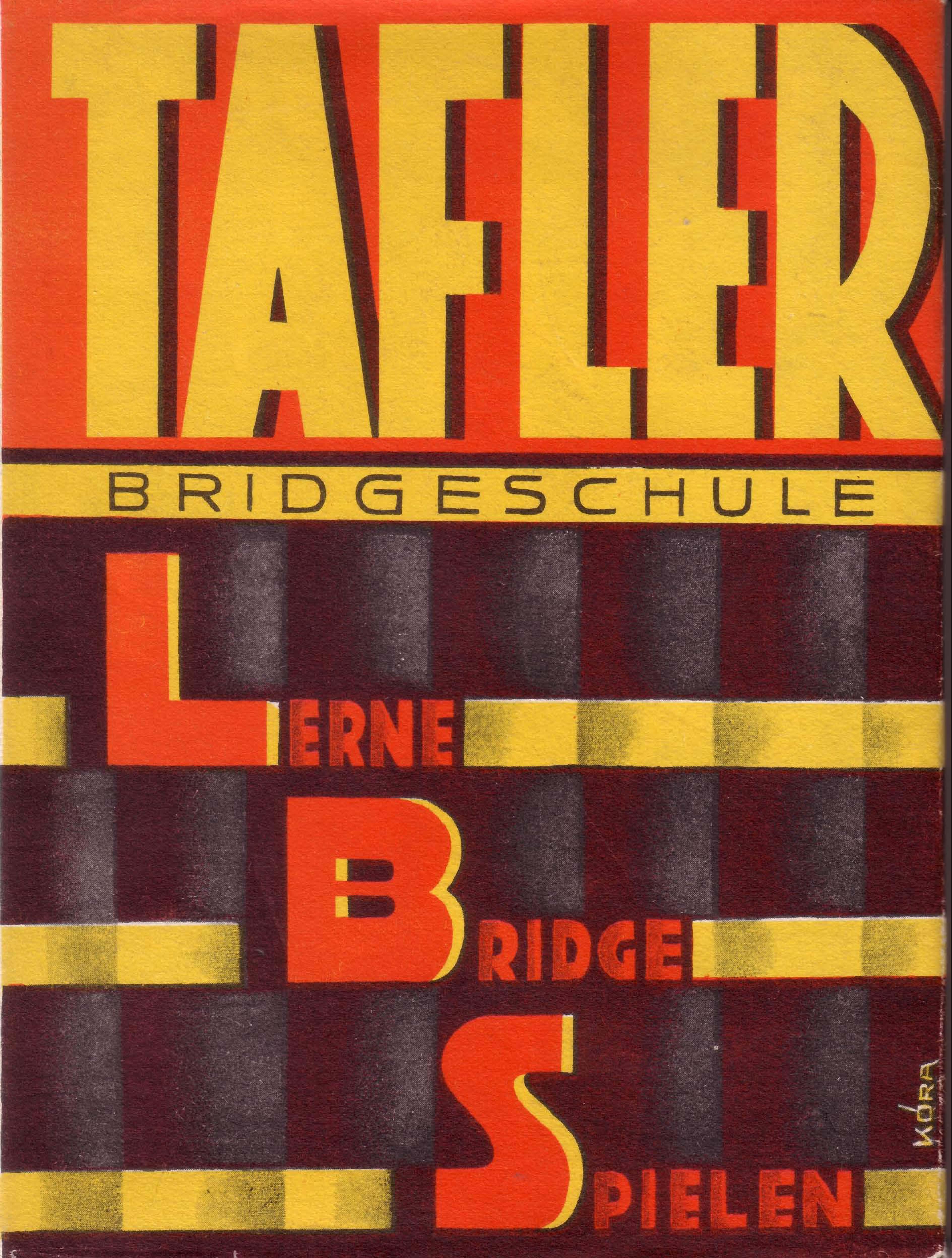 Schutzumschlag von Kóra, 1931