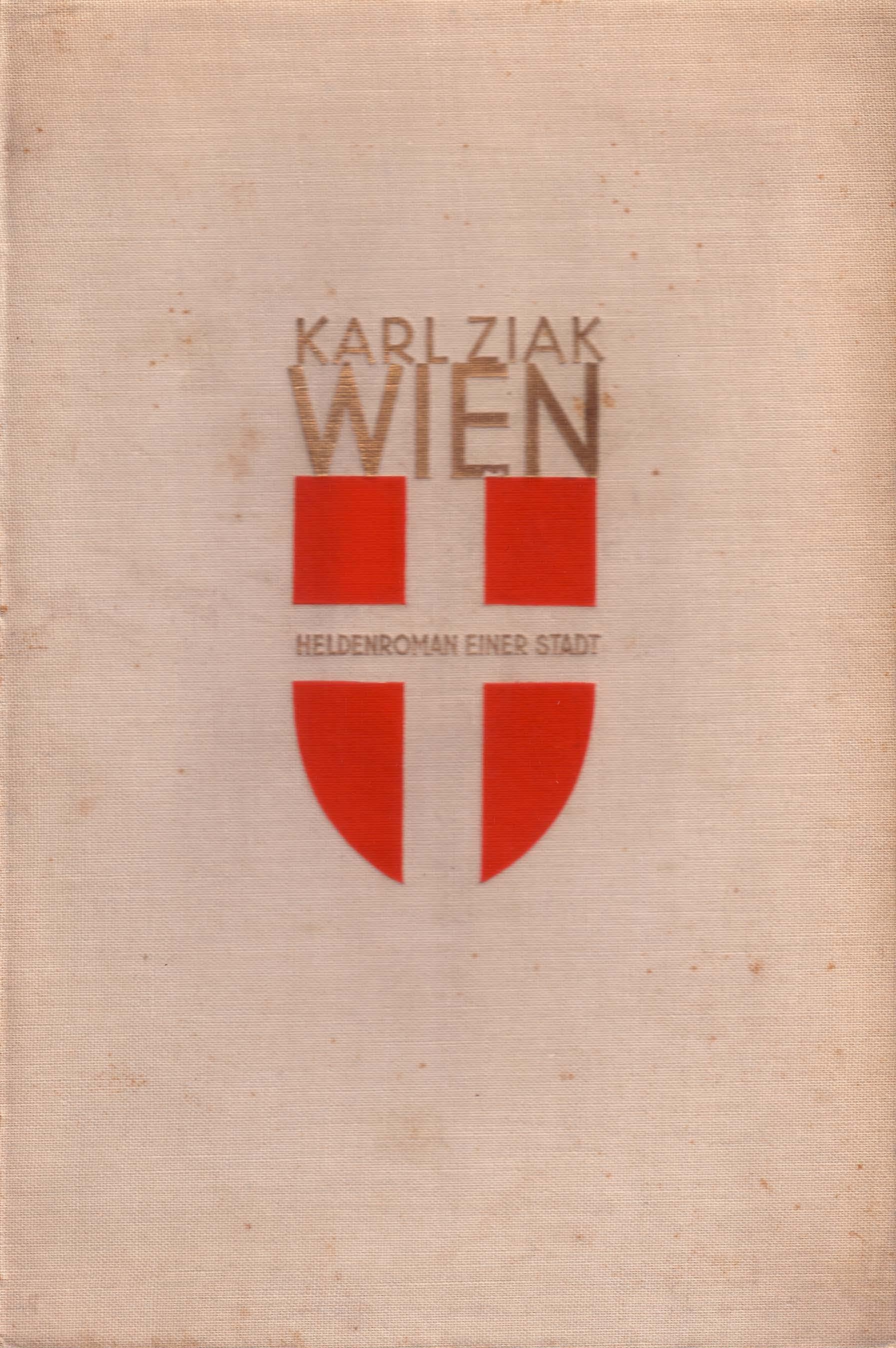 Einbandentwurf von Hermann Kosel, 1931