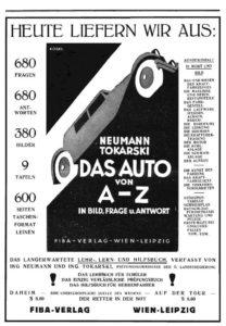 Anzeige Mai 1932