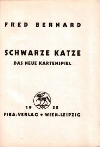 Titelblatt 1932