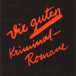 Verlagsprospekt für die Kriminalromane von E. Finke (1888–1968)