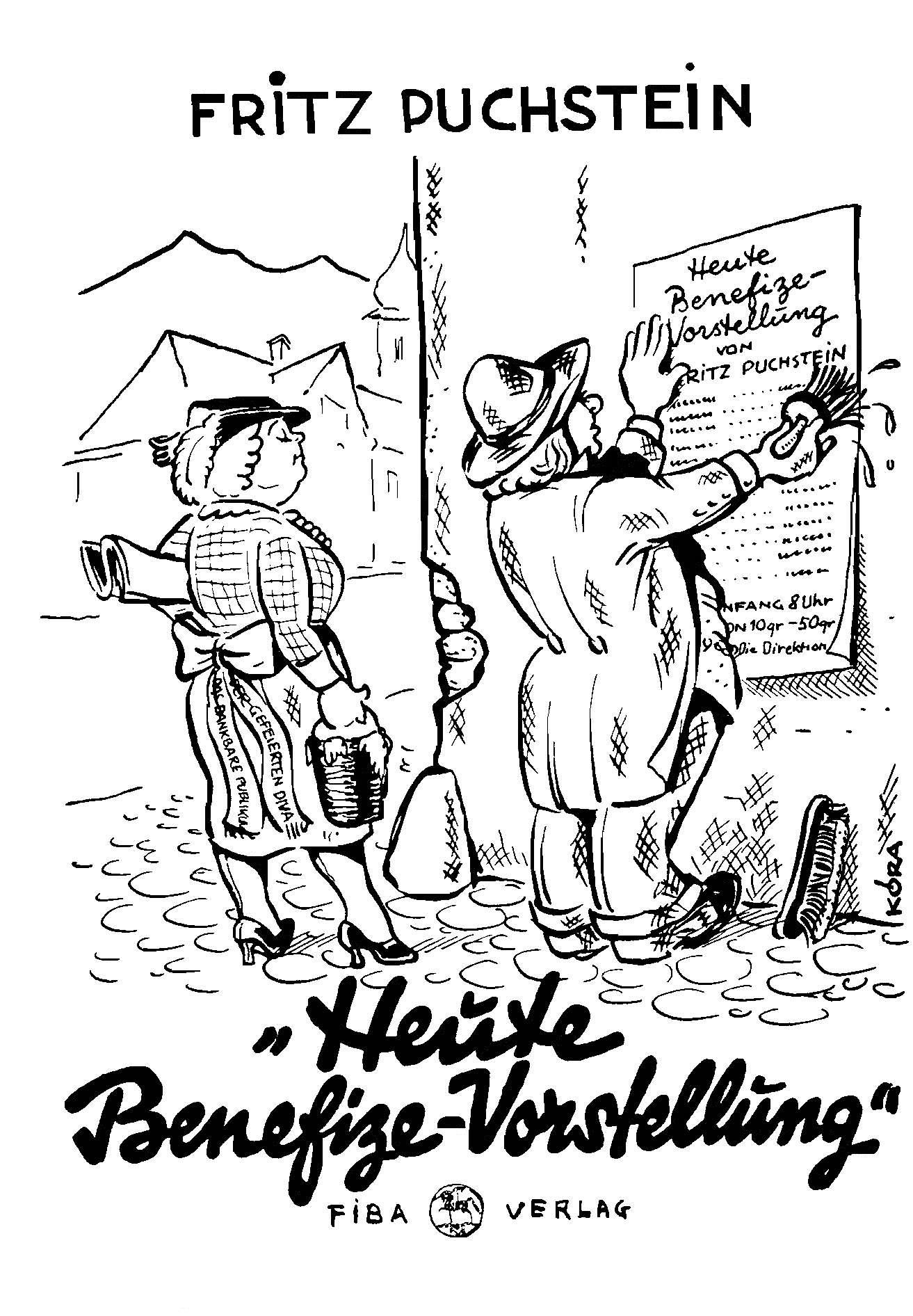 Titelzeichnung von Kóra, 1935