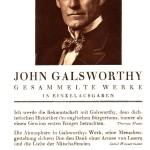 Sonderprospekt für J. Galsworthys Gesammelte Werke (1930)