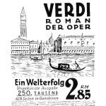 Anzeige Sonderausgabe Franz Werfels Verdi.