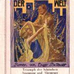 Coverillustration von Franz Plachy (1896–1968) als Teil eines Werbeblatts