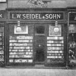 Geschäftsauslage L. W. Seidel