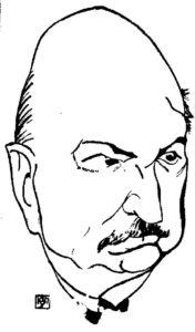 Richard Kola Zeichnung 1924