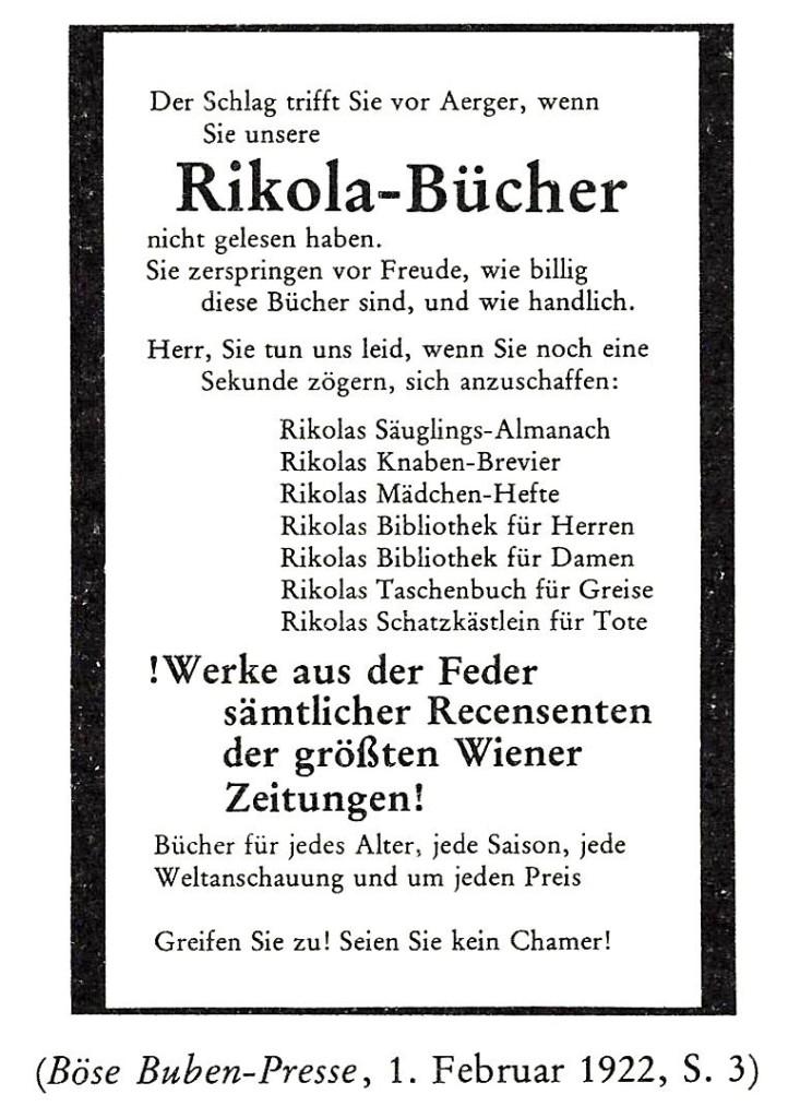 Rikola-Bücher