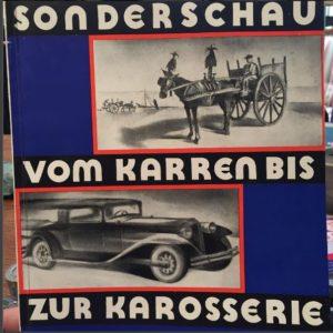 Ausstellungskatalog 1933, Entwurf des Umschlages W. Braun, H. Hofmann
