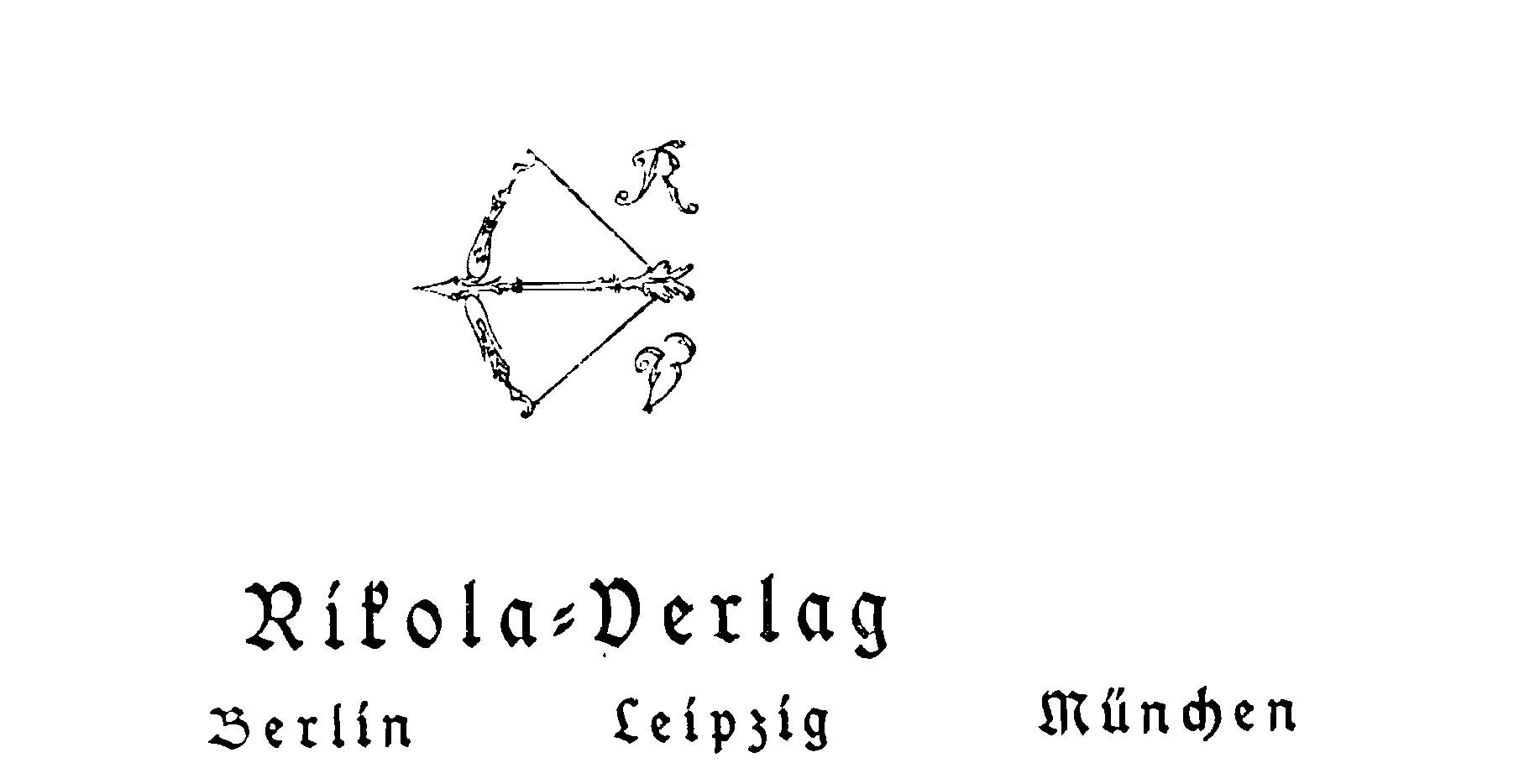 Rikola Verlagssignet