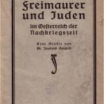 """""""Aus der Werkstatt der Freimaurer und Juden"""" (1927)"""