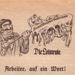 """Illustration aus Paumgarttens """"Arbeiter, auf ein Wort!"""""""