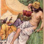 Georg Terramare: Die 1002. Nacht. Leipzig-Wien: Lyra-Verlag (H. Molitor) 1919.  Umschlagzeichnung: G. v. Ferenchich.