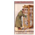 Ernst Decsey: Zwei Großvater-Geschichten. Leipzig-Wien: Lyra-Verlag (H. Molitor) 1919.  Umschlagzeichnung: G. v. Ferenchich.